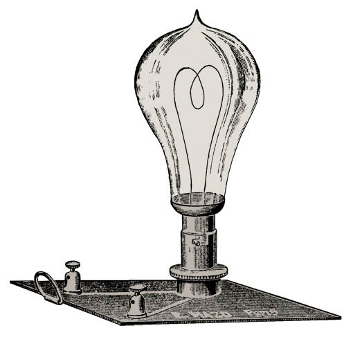 Inventeur de la lampe a incandescence design de maison - La lampe a incandescence ...