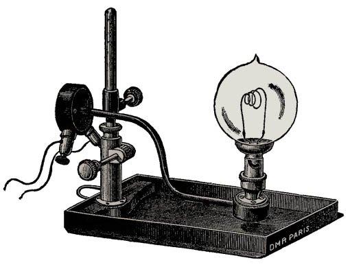 Histoire des projections lumineuses 2012 avril 03 - Que produit une lampe a incandescence ...